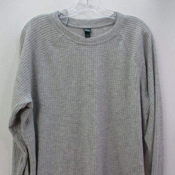 Wild Fable Heather Gray Sweatshirt Large #F1-162